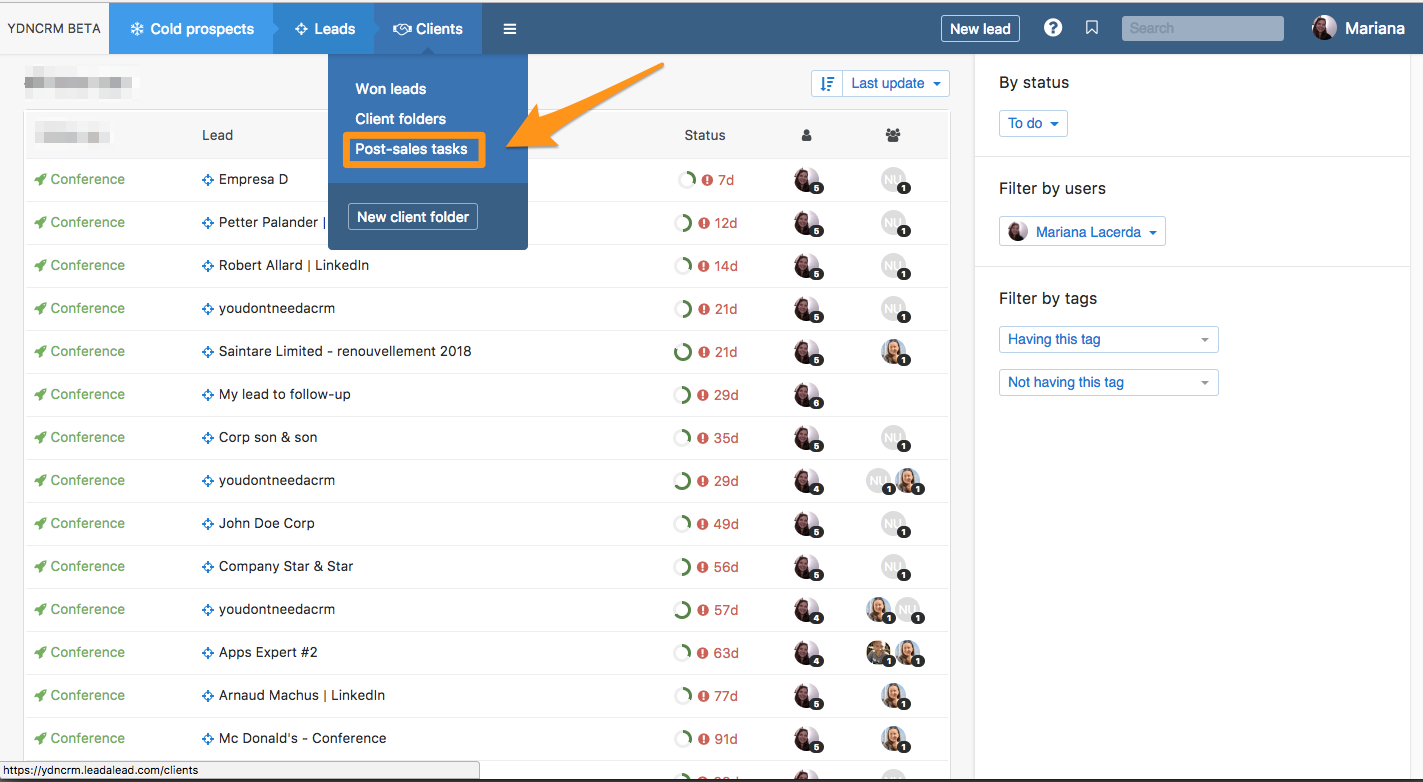 Following Up On Your Won Clients You Don T Need A Crm