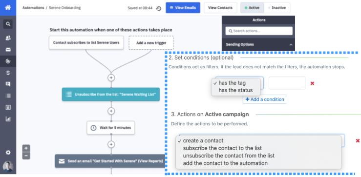 noCRM.io meets ActiveCampaign
